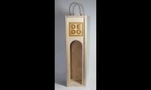 Holzpräsentkassette für Wein