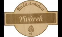 Bierdeckel aus Holz - Preßburg