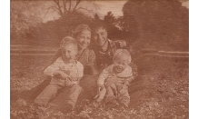 Holzbild - Fotogravur 130x180 mm