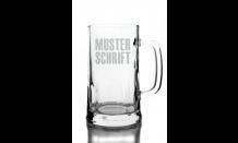 Glas mit Wunschgravur - Bierkrügel 0,5L 026565