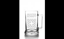 Glas mit Wunschgravur - Bierkrügel 0,5L 026574