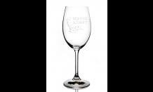 Glas mit Wunschgravur für Weine 0,25L 026600