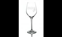 Glas mit Wunschgravur für Weine 0,36L 026598