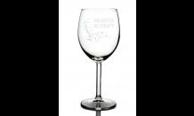 Glas mit Wunschgravur für Weine 0,3L 026698