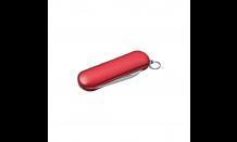 Taschenmesser mit Wunschgravur - rot