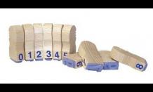 Ziffernsatz 0-9 15 mm