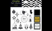 StampoNoël - moderne Weihnachten