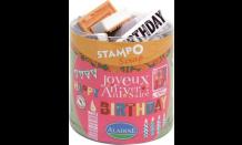 StampoScrap - Geburtstag EN/FR