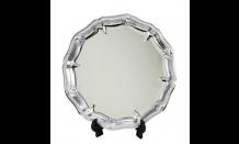 Silberteller Trident