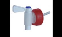 Verschluss Kappe mit Abflusshahn für Flasche 1l und Kanister 5l