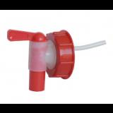 Verschluss Kappe mit Abfluss für 25l und 50l Kanister